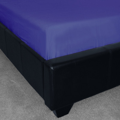 Polycotton Plain Royal Blue Fitted Sheet (150 Thread Count)