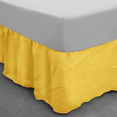 Banana Polycotton Base Valance