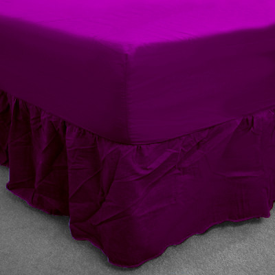 Mulberry Percale Fitted Valance (180 Thread Count)