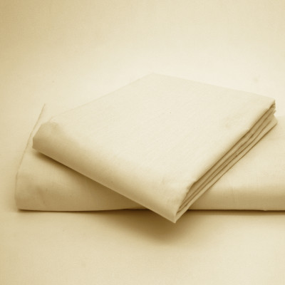 Polycotton Percale Cream Housewife Pillow Cases( 180 Thread Count)