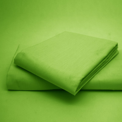 Polycotton  Percale Summer Green Housewife Pillow Cases( 180 Thread Count)