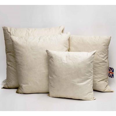 Duck feather Square Cushion pads in Pack of 2