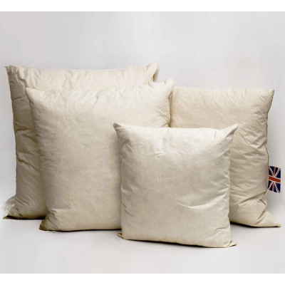 Duck feather Square Cushion pads in Pack of 6