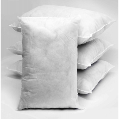 Polyester hollow fibre Oblong Cushion Pads in Pack of 10