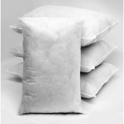 Polyester hollow fibre Rectangular Cushion Pads in Pack of 4