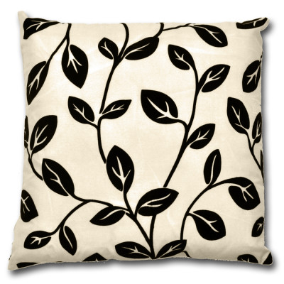 Dakota Floral Black  Filled Cushions