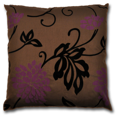 California  Floral Mulberry Filled Cushions