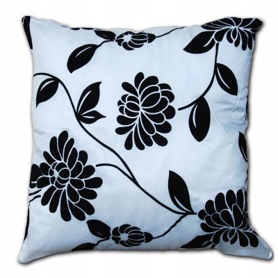 Alison Faux Silk Ivory Cushion Cover
