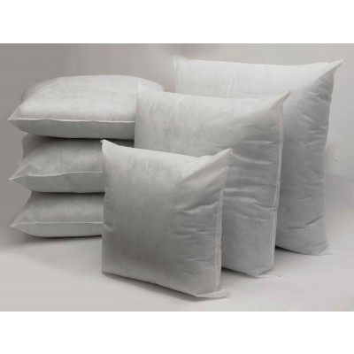 Polyester hollow fibre Square Cushion Pads in Single Piece