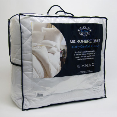 Microfibre Packed  13.5 Tog Synthetic Duvet