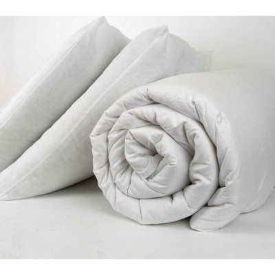 Polypropylene Cased Polyester Hollow Fibre 15 Tog Duvet And Pillow Sets