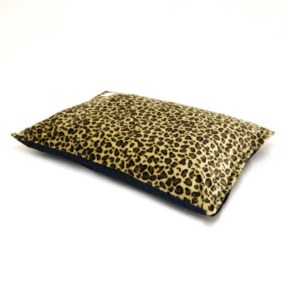 Faux Fur Leopard Dogbed / Cat Petbed Cover