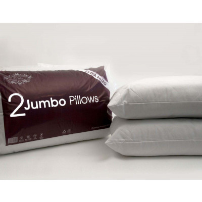 Pair Of Lavish Extra Filled Quilted Pillows