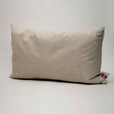 Extra filled Duck feather oblong Cushion pads