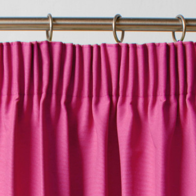 Thermal Blackout Fushia Pink Pair of Curtains