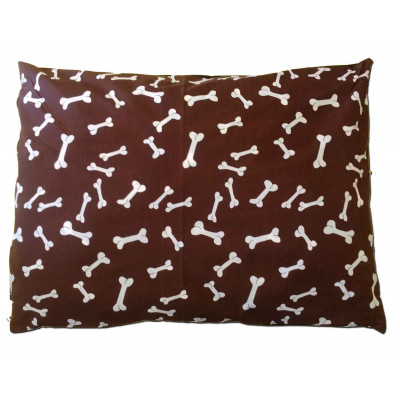 Mini-Bone Extra Large Choco Dogbed Cover