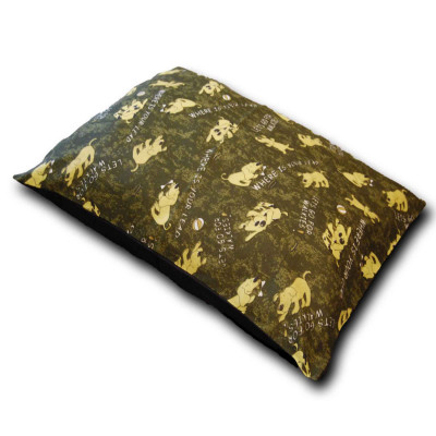 Walkies Camouflage Large Dog Bed