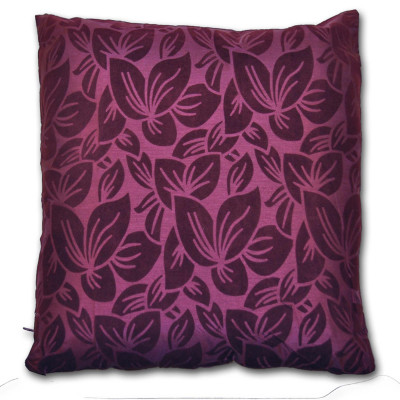 Wyoming Floral Mulberry Filled Cushion