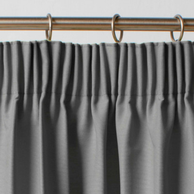 Thermal Blackout Slate Pair of Curtains