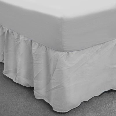White Polycotton Base Valance