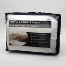 13.5 Tog With 100% Cotton Casing Feather Duvet By Bedding Mill