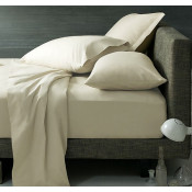 400 Thread Count Cream Egyptian Cotton Duvet Covers