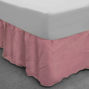 Pink Polycotton Base Valance