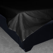 200 Thread Count Black Egyptian Cotton Flat Sheets