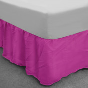 Cerise Polycotton Base Valance