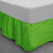 Green Polycotton Base Valance