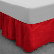 Red Polycotton Base Valance