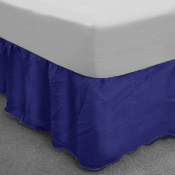 Royal Blue Polycotton Base Valance