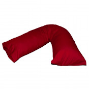 V-Shaped Red Pregnancy Orthopaedic Pillow Cases