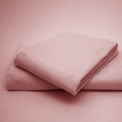 Polycotton Percale Pink Housewife Pillow Cases( 180 Thread Count)