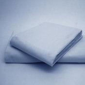 Polycotton Percale Sky Blue Housewife Pillow Cases( 180 Thread Count)