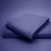 Polycotton  Percale Royal Blue Housewife Pillow Cases( 180 Thread Count)