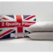 Super Soft Hollow Fibre Bounce Back Pair of Pillows