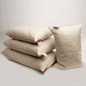 Duck Feather Oblong Cushion Pads In Single Piece