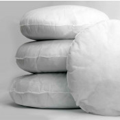 Polyester hollow fibre Round Cushion Pads in Pack of 4