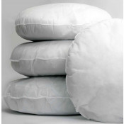 Polyester hollow fibre Round Cushion Pads in Pack of 10