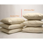 Extra filled Duck feather Square Cushion pads