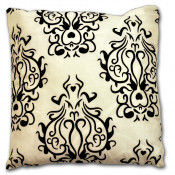 Idaho Floral Ivory Filled Cushion