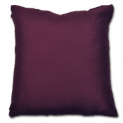 Maria Plain Faux Silk Mulberry Filled Cushion