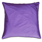 Pure Silk Purple Cushion Cover