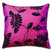Alison Faux Silk Pink Cushion Cover