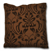 Montana Floral Chocolate Cushion Cover