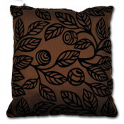 Oregon Floral Chocolate Cushion Cover