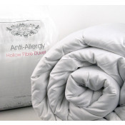 Poly cotton cased Polyester Hollow fibre 15.0 tog  synthetic duvet