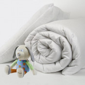 Hollow Fibre Filled 4.5 Tog Cot Bed Kids Duvet And Pillow Sets