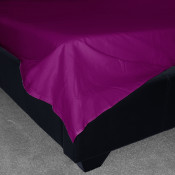Mulberry Percale Plain Flat Sheet (180 Thread Count)